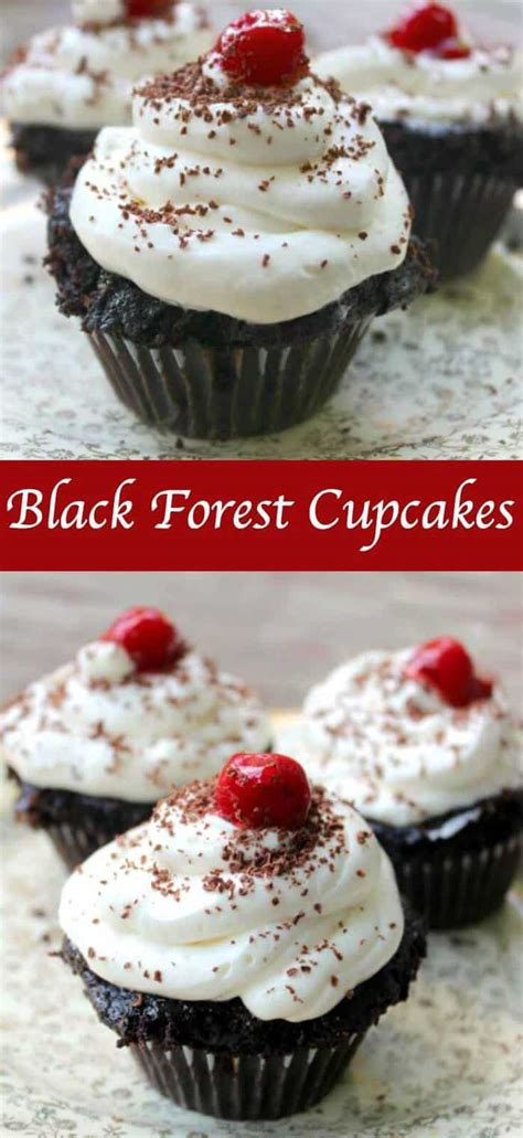 easy black forest cupcakes recipe restless chipotle