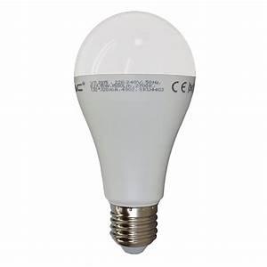 E27 Led 100w : 100w equivalent led bulb e27 classic gls globe warm white v tac ~ Markanthonyermac.com Haus und Dekorationen