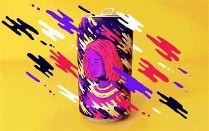 Soda Cans Lucas Resonance Animated Pop Wakamatsu