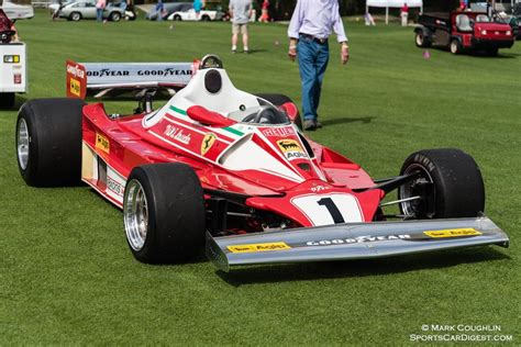 Enzo ferrari called the young and promising austrian to maranello in 1974. Niki Lauda's (?) 1976 Ferrari 312 T2 | Ferrari, Amelia island, Vintage racing