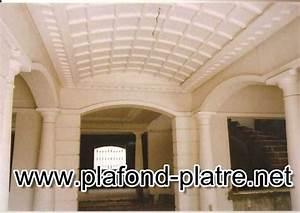 Corniche Plafond Platre : corniche pl tre plafond platre ~ Voncanada.com Idées de Décoration