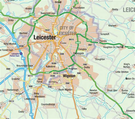 wall panel sheets leicestershire county map map graphics