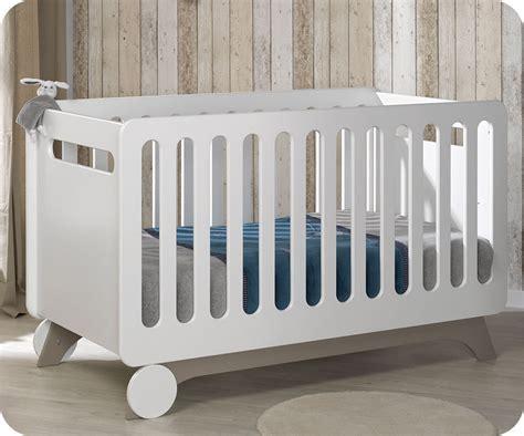 deco chambre bb fille lit bébé évolutif 70x140 cm pepper blanc