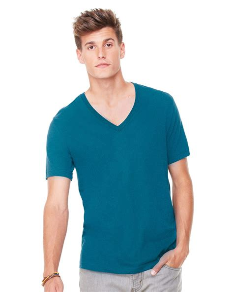 canvas unisex deep  neck jersey  shirt