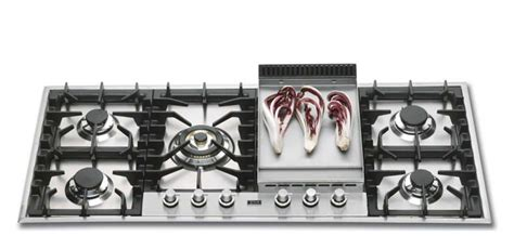 cuisine à la plancha gaz ets bonnel ilve plaque cuisson gaz h125fc 6 brûleurs