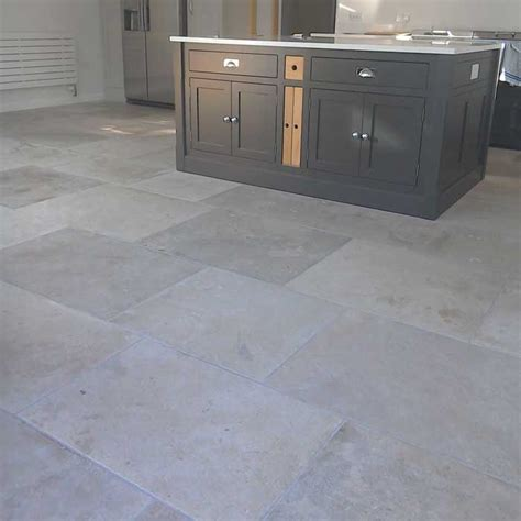 limestone floor tiles kitchen manoir grey limestone flooring 7113