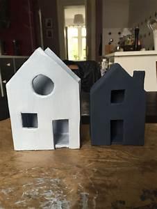 Wimpelkette Selber Basteln : lichterhaus r ucherhaus aus ton diy basteln ~ Lizthompson.info Haus und Dekorationen