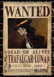 Blackbeard Wanted Poster One Piece | www.imgkid.com - The ...