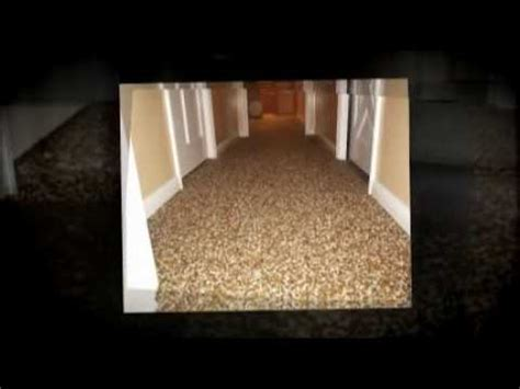 Pebble Flooring Video   YouTube