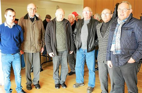 bureau des anciens combattants anciens combattants le bureau réélu edern letelegramme fr