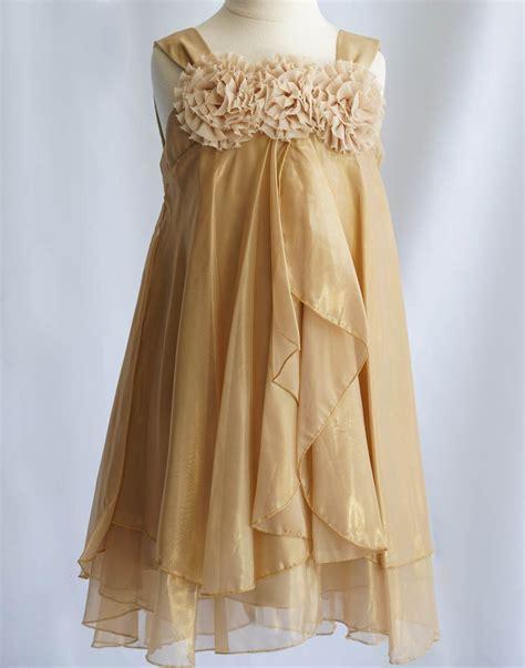 Shimmery Chiffon Flower Girl Dress Dress Coral Party Dress ...
