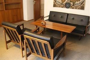Sessel 60er Design : 60er jahre sofa sessel und tisch vermutlich knoll ~ A.2002-acura-tl-radio.info Haus und Dekorationen