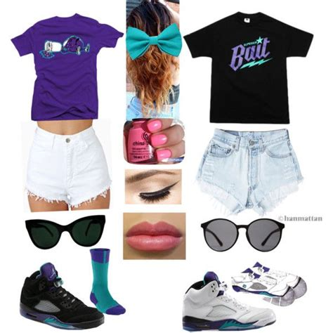 Jordan Grape outfits - Polyvore | cute swag | Pinterest | Jordans Wouldnu0026#39;t and Outfit sets