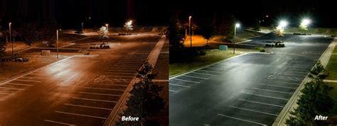 high pressure sodium lights vs led led light design exciting parking lot led lights led pole