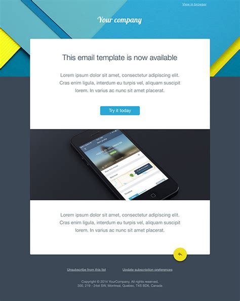 designing an email template 20 free business newsletter templates to hongkiat
