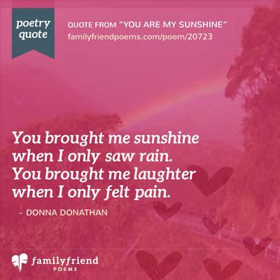 sunshine sweet love poem