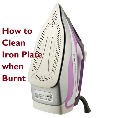 How To Clean Iron Plate When Burnt7 Easy Ways  A Blog To