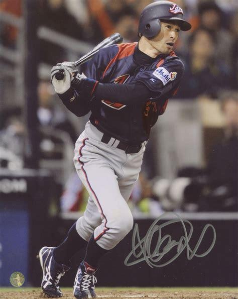 Ichiro Suzuki Number by Sports Memorabilia Auction Pristine Auction