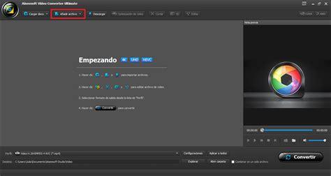 como convertir  video mp  amv