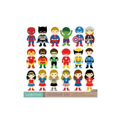Clipart Superman Spiderman Batman Clipartpanda Superhero Superheroes