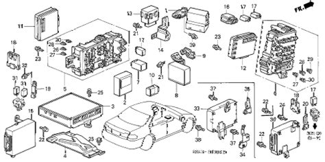 Honda Online Store Accord Control Unit Cabin Parts