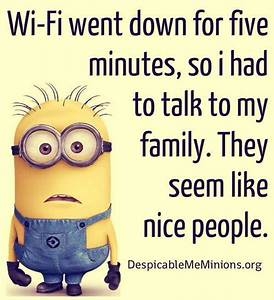 Wifi went down.... Nice Talks Quotes