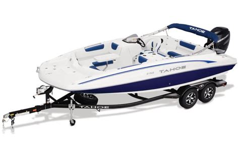 TAHOE Boats : Deck Series : 2018 2150 Features Options