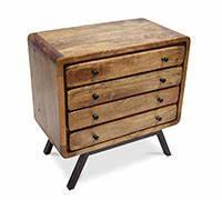Grande Commode Pas Cher : grande commode en bois recycle 4 tiroirs style industriel jason pas cher ~ Teatrodelosmanantiales.com Idées de Décoration