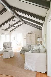 13 Ways to Add Ceiling Beams to Any Room - Town & Country