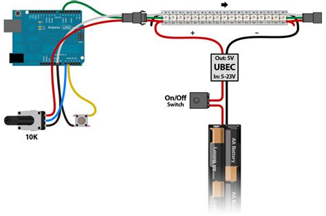 Phillip Wire Diagram by Plan Wiring Neopixel Painter Adafruit Learning System