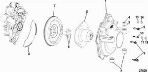 Mercruiser 100 Vazer Ec Cylinder Block  Flywheel Housing