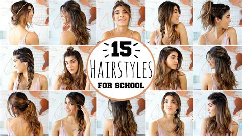 School Hairstyles For by 15 Heatless Hairstyles For School