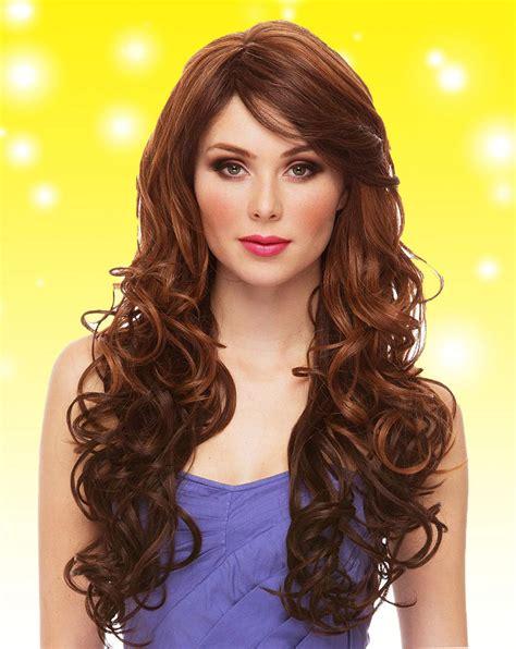 Heat Safe Glamorous Long Curly Wig Soprano