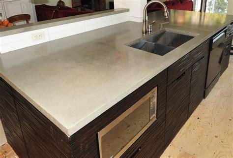 kitchen countertops concrete mode concrete ultra chic and modern concrete kitchen