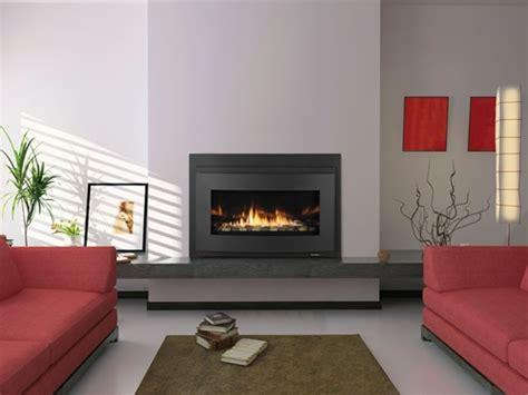 modern gas fireplace inserts heat glow cosmo i30 modern gas fireplace insert direct vent