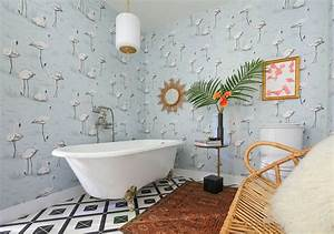 20, Stylish, And, Relaxing, Bohemian, Bathroom, Designs, In, 2020