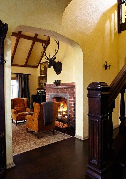 Style Homes Interior by Get The Look Tudor Style Traditional Home