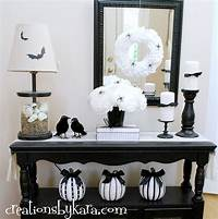 black and white decorations Timeless and Chic: Creative Black and White DIY Decor Ideas