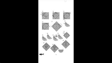Origami Shark Youtube