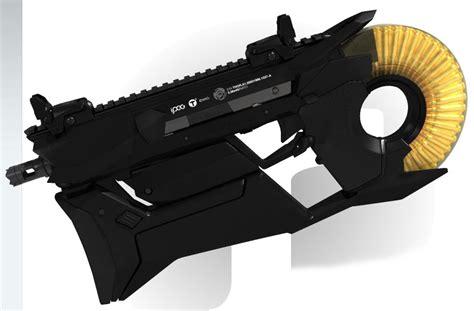 futuristic weapon design by pascal eggert