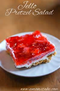 Jello PRETZEL Salad Dessert Recipe
