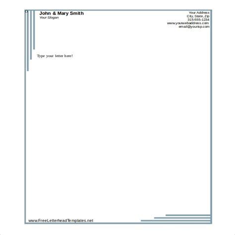 microsoft word letterhead template beepmunk