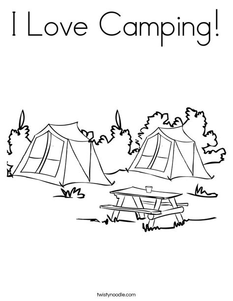 gallery for gt camping coloring pages for preschool 673 | ccb23f2b6291f9b273912665a364b6d4 preschool camping theme crafts for kids