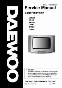 Daewoo Cn220f Chassis Dtq21u6sc Tv Sm Service Manual Free