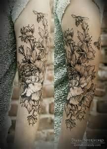 blumen design 15 black and white floral designs