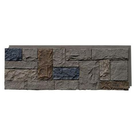 nextstone castle rock tudor gray 15 25 in x 43 25 in