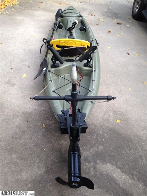 Does Cabelas Register Boats by Armslist For Sale 12 Kayak With Trolling Motor Great