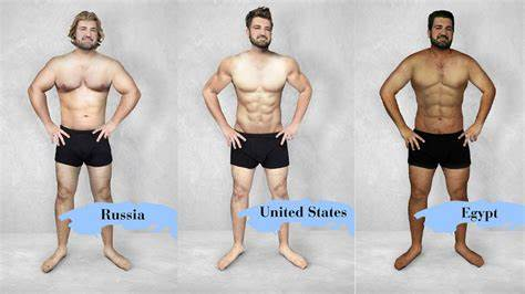 Standards Of Beautiful Around The World A Man'S Рўummy Was Photoshopped To Flaunting Different Stunningly
