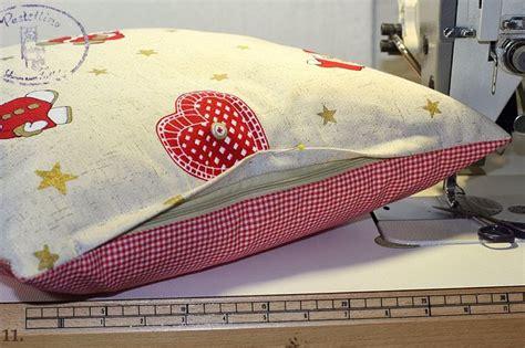 kissen nähen mit reißverschluss kissen mit taschen kissen aus patchwork mit taschen 70 x 40cm retro 032166 stoff kissen