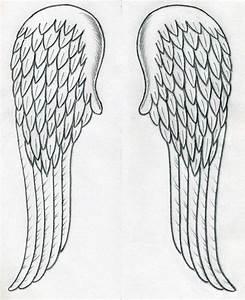 Easy Angel Pencil Drawings